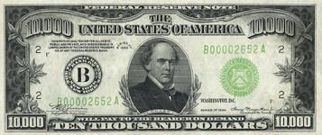 10000 US Note