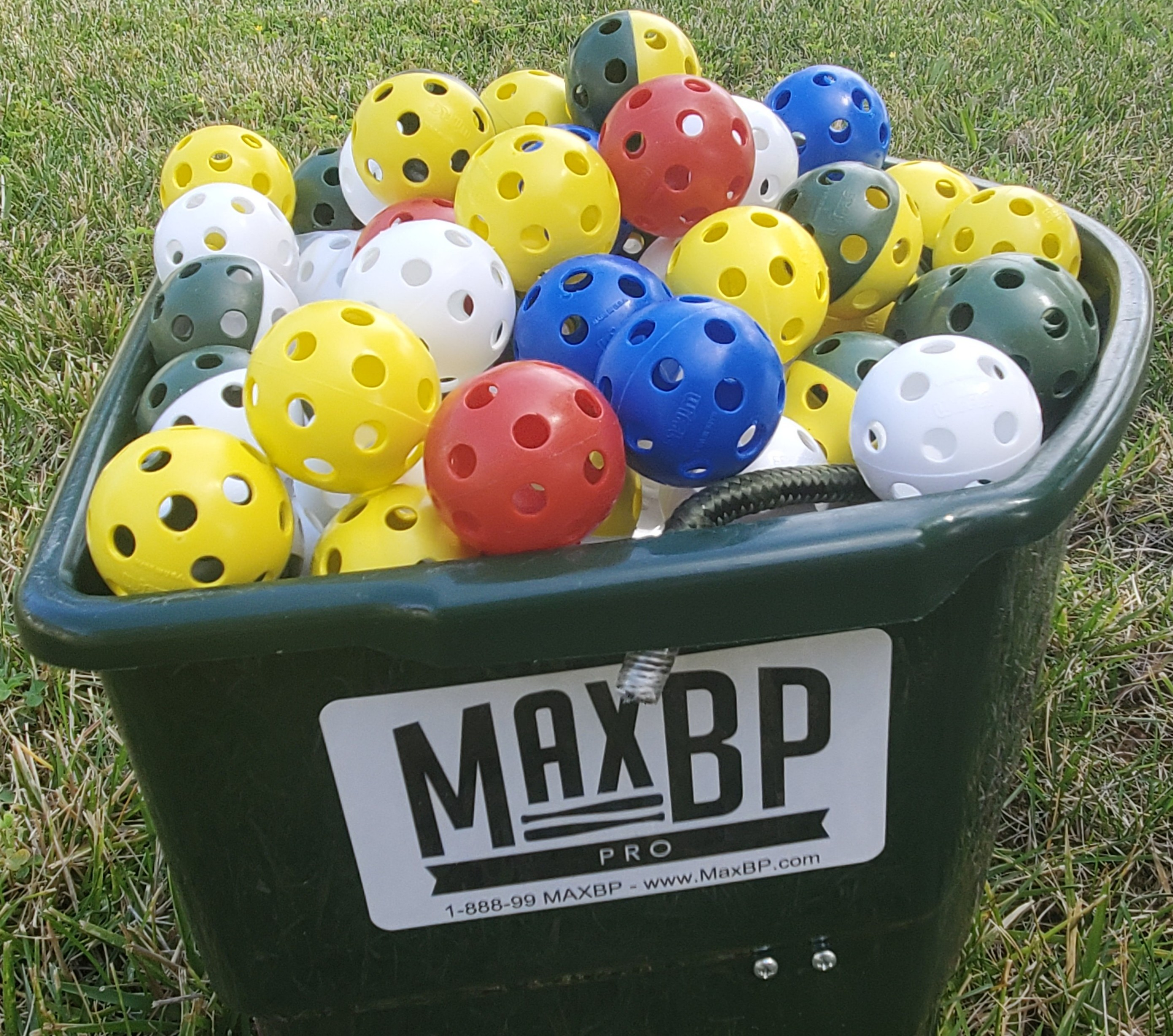 MaxBP has jelly bean wiffle balls that will any hitter in training develop better vision and hand-eye coordination in the batter's box.