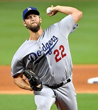 Clayton Kershaw and the Los Angeles Dodgers will attempt to reach their third world series in as many years.