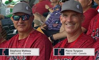 Stephane Matteau and Pierre Turgeon sustained great careers in the National Hockey League, however, they were also teammates in the Little League World Series.