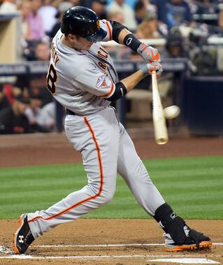Buster Posey of the San Francisco Giants has managed to be a consistent hitter throughout his career by utilizing an approach  that features visual, mental and physical preparation.