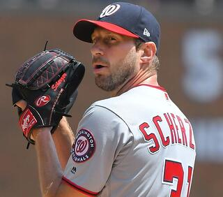 Max Scherzer of the Washington Nationals will take the hill in the 2019 NL Wild Card game as he attempts to prolong the Nationals season.