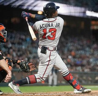 Ronald Acuna Jr. and the Atlanta Braves will face the St. Louis Cardinals in the National League Division Series.
