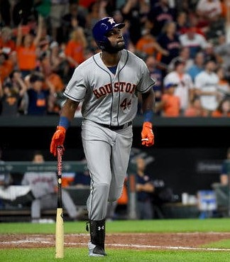 Yordan Alvarez and the Houston Astros will face the winner of the AL Wild Card game in the AL Division Series.