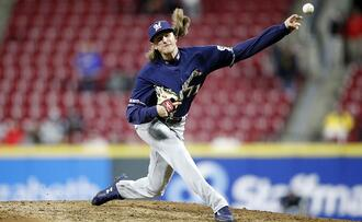 Milwaukee Brewers relief pitcher Josh Hader took a tough luck loss in the Brewers NL Wild Card game against the Washington Nationals.