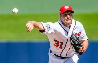 Max Scherzer struggled in his NL Wild Card start against the Milwaukee Brewers, but his teammates saved the day with a late inning comeback.