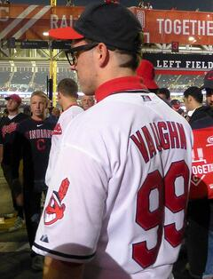 """Arguably the most iconic player in Major League was Charlie Sheen's character, Rick """"Wild Thing"""" Vaughn, the troubled young pitcher with poor vision and a rocket arm."""